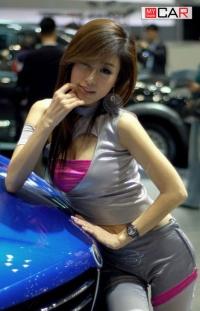 Hot car show girls thanks